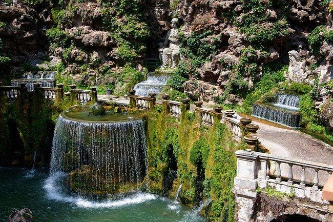 Villa d 39 este tivoli it lia louco por viagens for Jardin villa d este