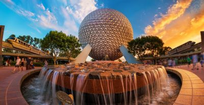 spaceship-earth-sunset-dual-monorails-epcot-v2-copy