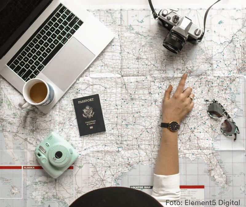 Como planejar uma viagem perfeita: 5 passos simples + dica bônus