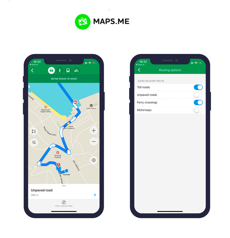 mapsme app