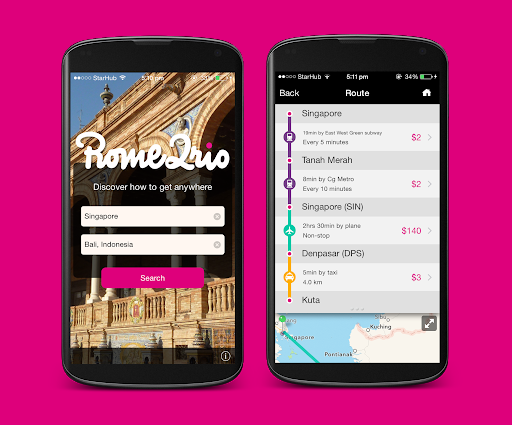 rome2 rio app