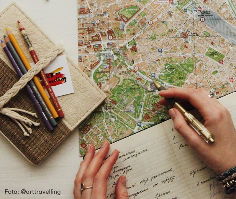 planejar viagem barata