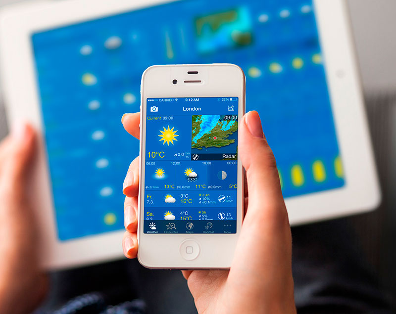 weatherpro free app